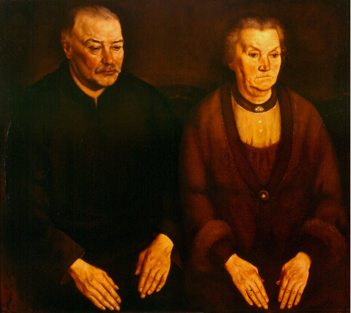 Koolen painting double portrait parents